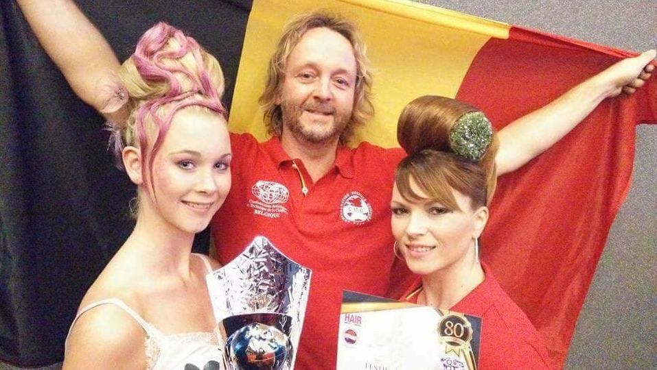 Un coiffeur cominois finit sur le podium du concours mondial de la coiffure