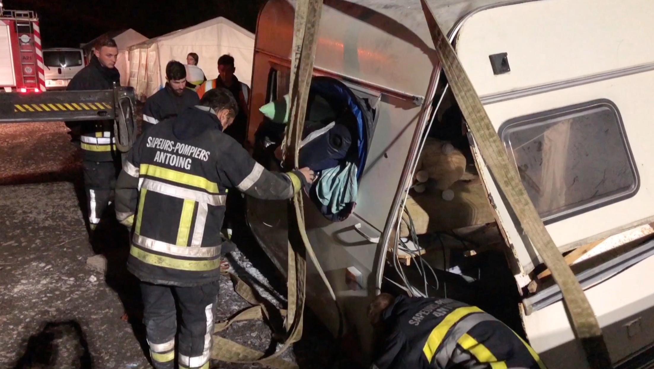 Une importante explosion fait 5 blessés graves à l'Antoing Cross Festival