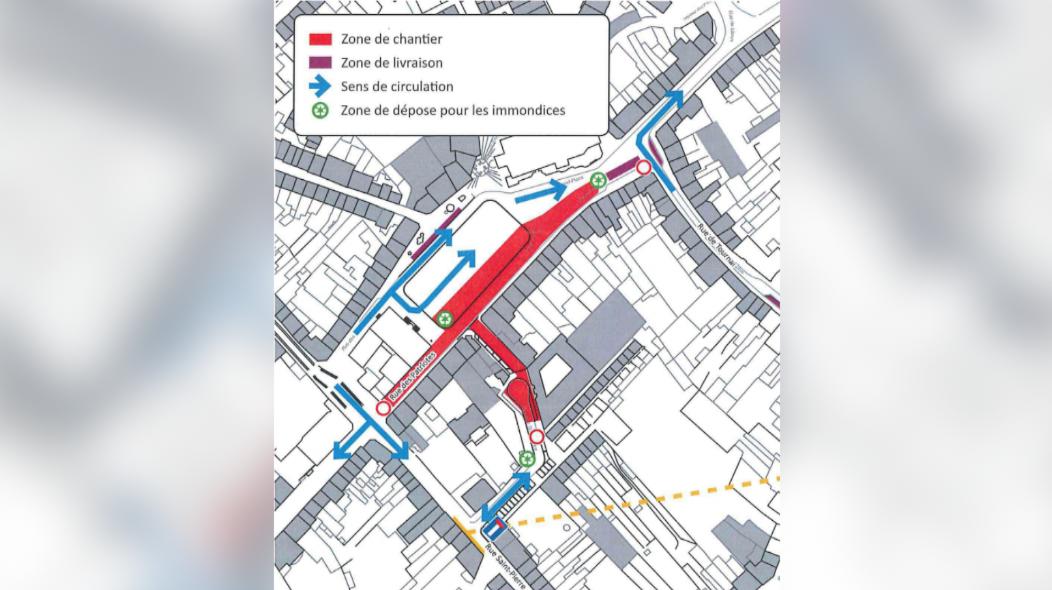 Chantier de la Grand-place: voici les modifications de circulation