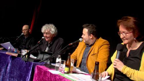 Les Pi-Menteurs avec l'humoriste mouscronnois, Fabian Le Castel