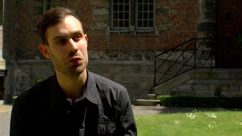 Portrait de Julien Gallez, futur prêtre