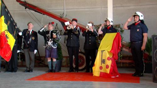 Le 30.000e LastPost d'Ypres célébré à Comines-Warneton