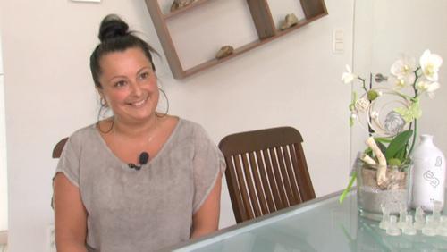 Mélanie Bonfitto, chef caissière et chanteuse aux fêtes de la Ste Anne