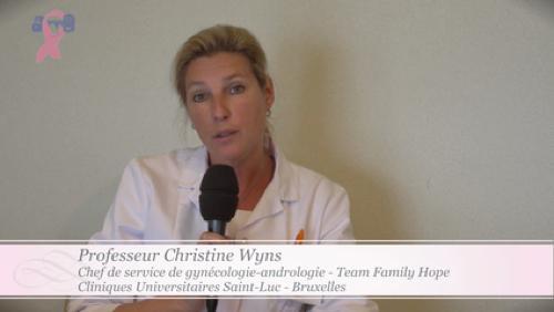 Octobre Rose - Pr. Christine Wyns, gynécologue