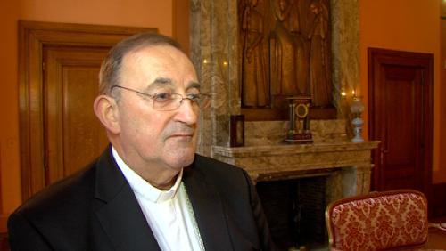 Mgr. Guy Harpigny de retour d'Irak
