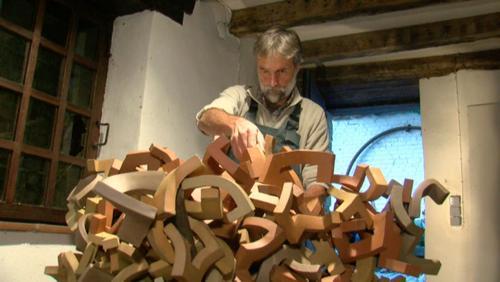 Art dans la ville : la famille Pion au moulin à eau de Froyennes