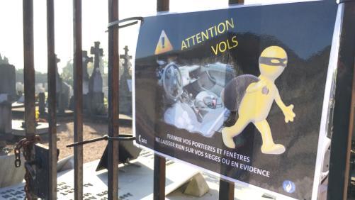 Cimetières : Attention aux vols dans les voitures