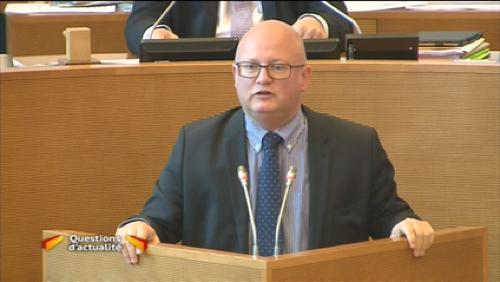 Crucke soutient le Télédon au Parlement
