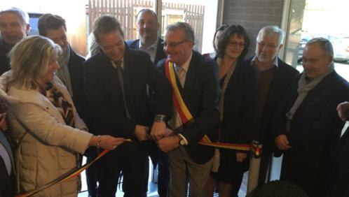 Inauguration de la Maison de la Citoyenneté  à Péruwelz