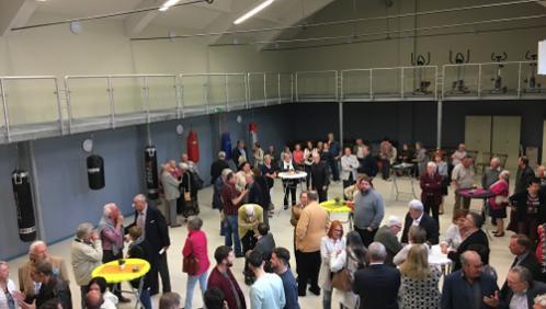 La salle de sport inaugurée au nom de Pascal Delbecq