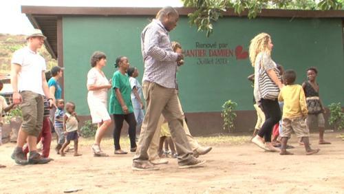 Au Congo avec Action Damien