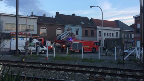 Incendie suspect à Herseaux Gare