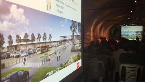 Un projet commercial de 17.000 m2