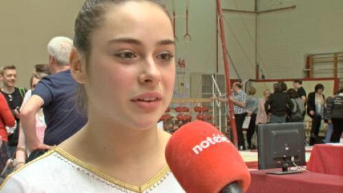 Cindy Vandenhole arrête la gymnastique