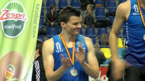 Ghislain et Campener, champions de Belgique d'athlétisme