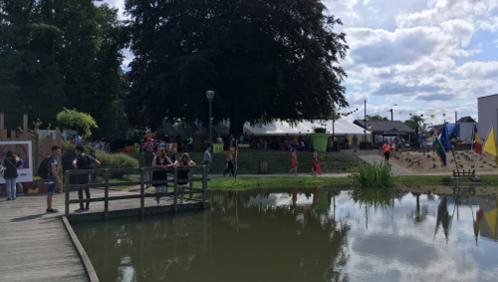 A Blaton, le parc Posteau est en fête