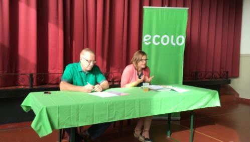 Marie-Colline Leroy tête de liste Ecolo