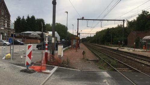 Un homme grièvement blessé à la gare de Maffle