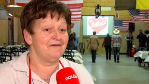 Martine Allard, bénévole Télévie depuis 24 ans