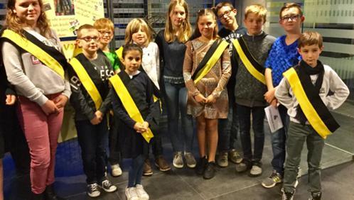 10 enfants élus au conseil communal