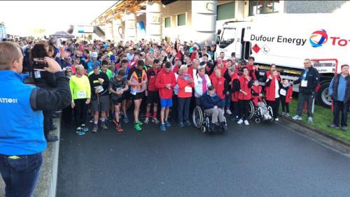 1.200 participants au départ du Trèfle au Cœur