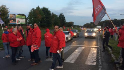 Grève: les piquets de grève levés