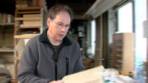 Le céramiste aux petites maisons
