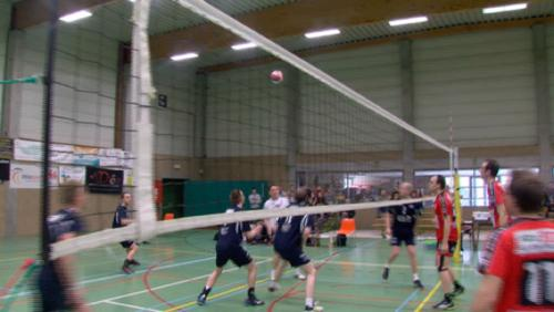 Volley P1: Basècles champion