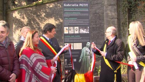 Tournai rend hommage à Gabrielle Petit