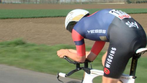 Jonathan Dibben remporte le contre-la-montre du Triptyque des Monts et Châteaux
