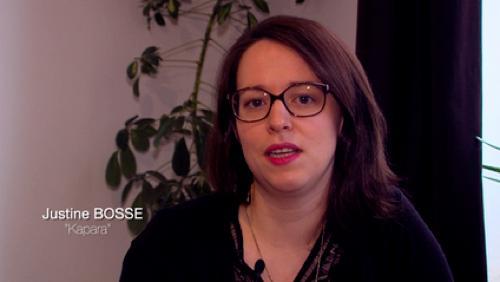 Justine Bossé/Kapara, textile d'exeption