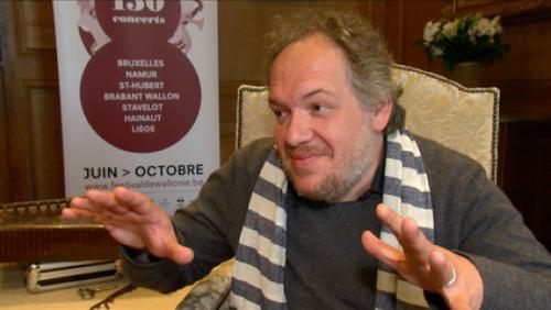 Mathias Enard, parrain du festival de Wallonie