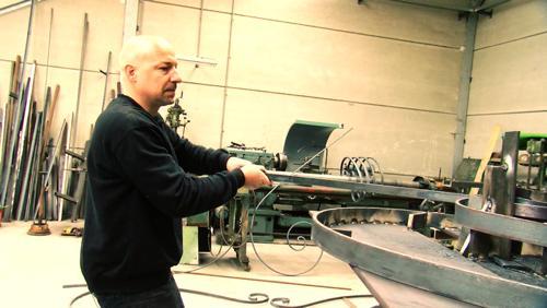 Portrait d'un ferronnier - Pour Fabien Deleuze, faut pas sans fer!