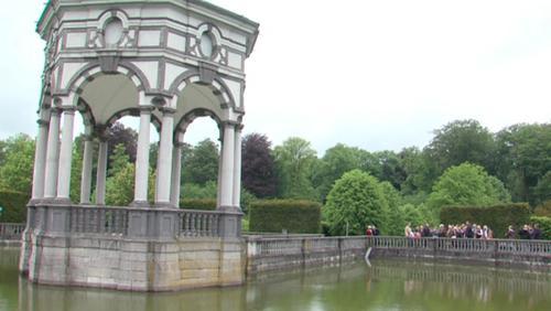 Enghien : découverte du réseau hydraulique au parc du château