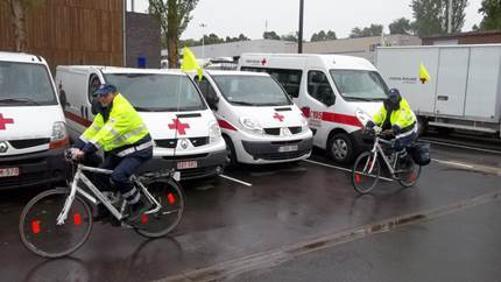 Beau vélo de RAVeL : récolte urgente de vivres