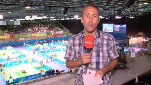 Gael Lebrun en direct de Rio