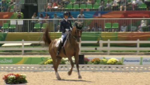 Paralympiques - ITV Michèle Georges