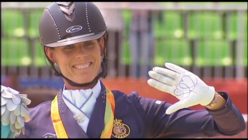 Une médaille d'argent pour Michèle George