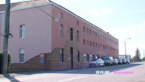 Un bâtiment rempli d'histoire