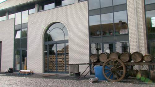 Un bièroduc pour la brasserie des Légendes