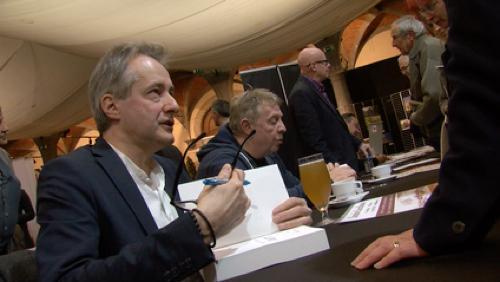 Salon Tournai la Page: Brice Depasse et les légendes