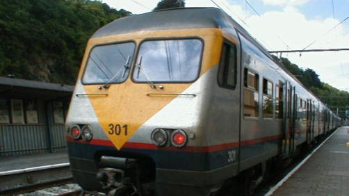 Une personne percutée par un train