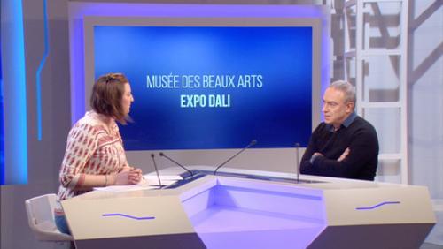 Dali et Antoni Pitxot réunis au Musée des BeauxArts