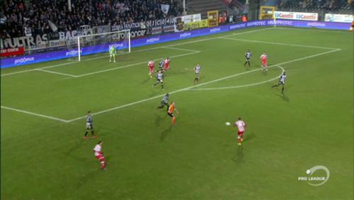 Rencontre REM - Sporting Charleroi en Pro League
