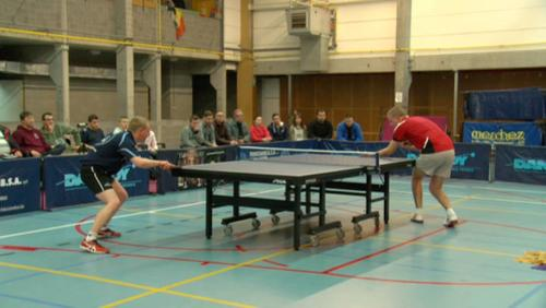 Tennis de table : Don Bosco, pas loin de l'exploit face à Virton et Cédric Merchez