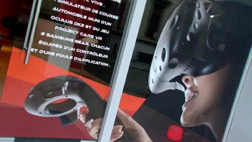 Premier espace de réalité virtuelle de Belgique à Tournai