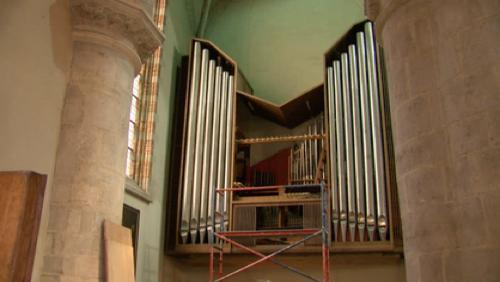 Démontage de l'orgue de l'Eglise Saint-Nicolas