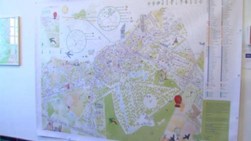 Une carte de la ville entre rêve et réalité
