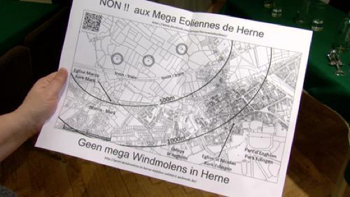 """Enghien contre les éoliennes """"géantes"""" d'Herne"""