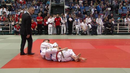 Tournai, capitale wallonne du judo